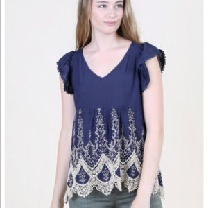 Altar'd State Baby Doll Top